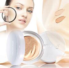 Bio Aqua Bare Makeup BB Cream Air Cushion Foundation Natural Light Mirror Brush