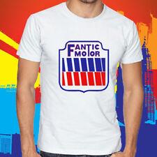 New Fantic Motor Motorcycle Legend Logo Men's White T-Shirt Size S to 3XL