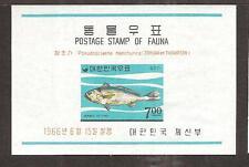 SOUTH KOREA # 498a MNH WILDLIFE ISSUE FISH