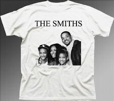Los Smiths Will Smith Familia Divertido Música Rock Impreso Camiseta de algodón 9843