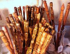 Wizard Magic Wand, hand carved hardwood - Random