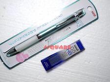NEW Color! Uni-Ball Alpha Gel Slim Mechanical Pencil + leads Set, Turquoise