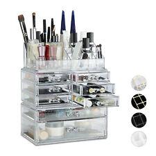 Make Up Organizer Acryl, Kosmetikregal Schubladen, Schminkaufbewahrung Fächer