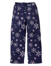 GYMBOREE COZY FAIRYTALE NAVY w/ SNOWFLAKE PUFFER SNOW PANTS 4 5 6 7 8 10 12 NWT