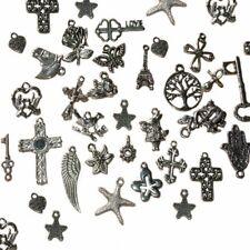 Plata Tibetana Bronce y Dorado Encantos. paquetes de 10 Varios Diseños KR01