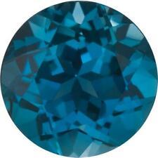 Natural Fine London Blue Topaz - Round - Brazil - Top Grade
