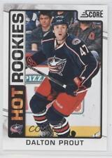 2012-13 Score #530 Dalton Prout Columbus Blue Jackets RC Rookie Hockey Card