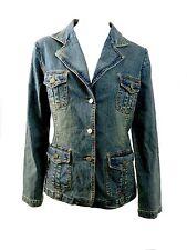 Women's Casual Wash Denim Jacket