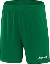 Jako Short Manchester Fußballhose Fußballshort sportgrün grün Kinder Herren 4412