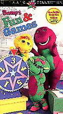 Barney's Fun & Games [VHS]