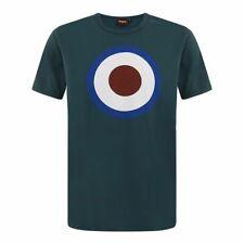 Merc LONDON Ticket bottle green 100% cotton T-shirt size medium-2XL