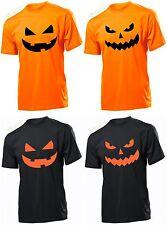 HALLOWEEN PUMPKIN T-shirt FUNNY t shirt skull MENS LADIES KIDS Fancy Dress