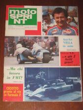 MOTOSPRINT 1980/23 APRILIA 125 CROSS ROBERTS VILLA @