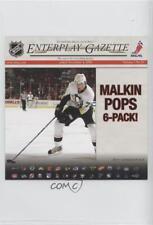 2008 Enterplay Fan Pak Gazette #26 Evgeni Malkin Pittsburgh Penguins Hockey Card