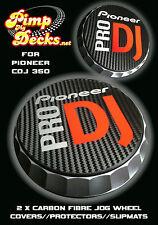 PIONEER PRO DJ (R) CDJ CARBON FIBRE SLIPMATS 350 CDJ350 - DJM - NEXUS