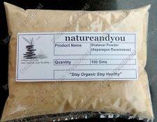Bulk Shatavar Churna Shatavari Asparagus Racemosus Powder 100% Pure Organic Herb
