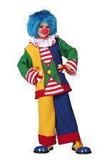 Déguisement pour enfant clown garçons Carnaval multicolore pantalon veste