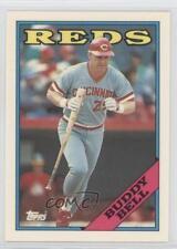 1988 Topps Collector's Edition (Tiffany) #130 Buddy Bell Cincinnati Reds Card