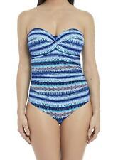 Neues AngebotFantasie La Manga Twist Bandeau Suit 6460 Underwired Swimsuit Swimming Costume
