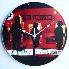 "The Libertines - Up the Bracket - 12"" LP Vinyl Record Clock- The Records Ticking"