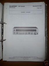 Manual de servicio para Blaupunkt r-4100 receiver, original