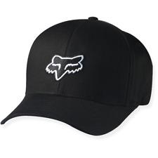 "FOX HEAD ""LEGACY"" FLEXFIT HAT. BLACK"