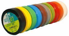 AT7 PVC ELETTRICO NASTRO ISOLANTE 15mm x 10 m adesivo MARK selbstverlöschend