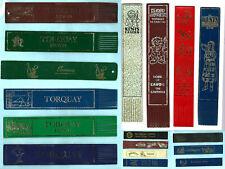 Leather Bookmark Torquay Devon Babbacombe Bygones Victorian Cockington Gift