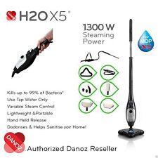 GENUINE✓ - H2O X5 ELITE Steam Mop 5 in 1 Multi Function Steam Cleaner BLACK H20
