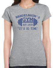 346 Mandelbaum womens T-shirt work out exercise funny sitcom 90s tv show work