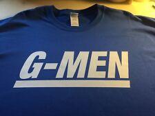 t-shirt NEW YORK GIANTS G-MEN custom made 3XL-Med several colors