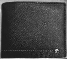 Portefeuille homme   Emanuel Ungaro en cuir ,noir et marron, Neuf Authentique