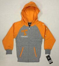 NCAA Tennessee Volunteers Kids Youth Football Sweatshirt Zipper & Pockets