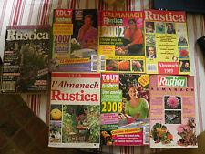 Lot de 7 livres sur la jardinerie Rustica