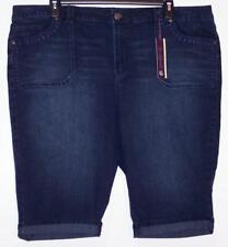 NWT Gloria Vanderbilt Slimming Affect Stretch Denim Skimmer Capri Jeans 16W 24W