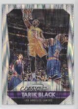 2015-16 Panini Prizm Flash #117 Tarik Black Los Angeles Lakers Basketball Card