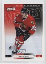 2005-06 Upper Deck Victory #43 Mark Bell Chicago Blackhawks Hockey Card