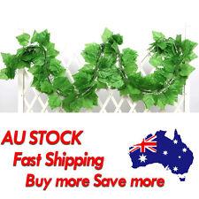 2.4M Home Wedding Garden Artificial Ivy Vine Fake Leaf Foliage Garland Decor