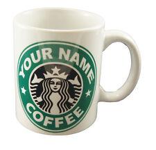 Starbucks Coffee Personalised Mug Cup Gift Name Tea Coffee Present Christmas
