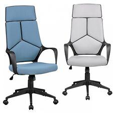 FineBuy chaise de bureau TECHBOY tissu design exécutif pivotante accoudoirs