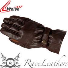 Weise route Marron moto rétro gants