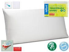 Funda almohada BAMBU VELFONT impermeable transpirable TODAS LAS MEDIDAS