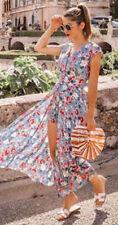 ZARA MULTICLOURED JUMPSUIT DRESS WITH FLORAL PRINT SIZE S,M,L