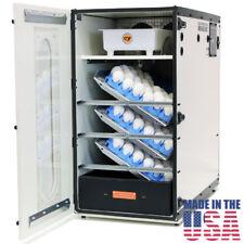 Incubator GQF 1502 Cabinet Incubator Hatcher Includes + 6 pcs Hatching Egg Trays