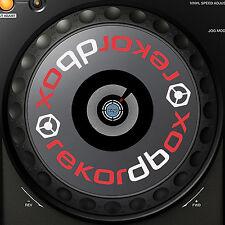 PIONEER REKORDBOX XDJ1000 XDJ 1000 JOG / SLIPMAT GRAPHICS / STICKERS - DJM CDJ