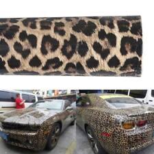 Auto Car Body Leopard Printed Vinyl Wrap Roll Sheet Sticker Films Styling Camel