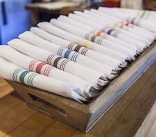 46x56cm Bistro Napkin Premium Napkin Linen Wedding Party Hotel White Serviette