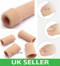 Tube Bandage Gel Cap Moisturising Finger Toe Protector Sore Corn Pain Relief UK
