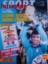Intrepido 1 1986 con Scheda inserto Antonio Cabrini