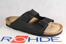 Rohde Men's Sandals Mules Clogs Black NEW